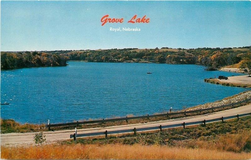 Grove Lake postcard