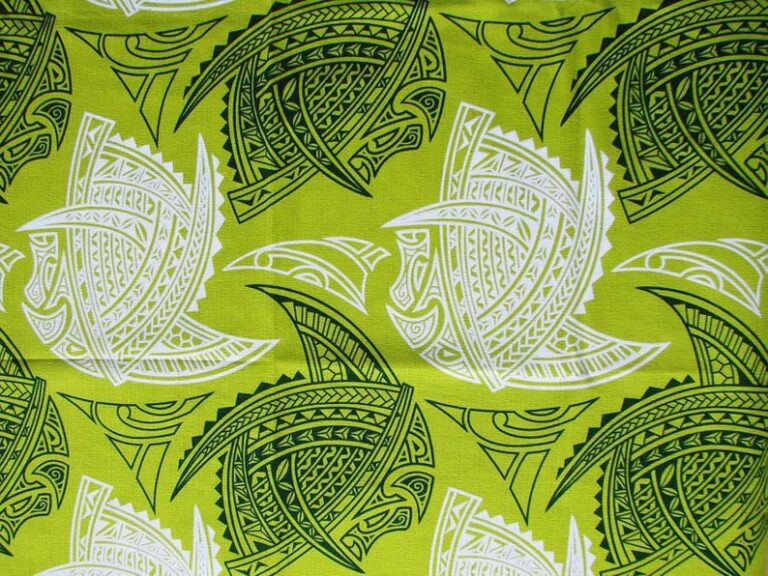 American Samoa Tapa Fabric
