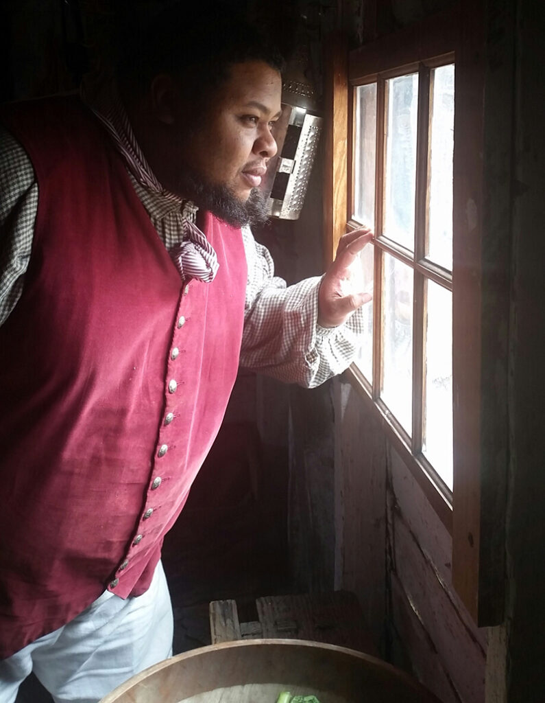 Michael W. Twitty at Colonial Williamsburg