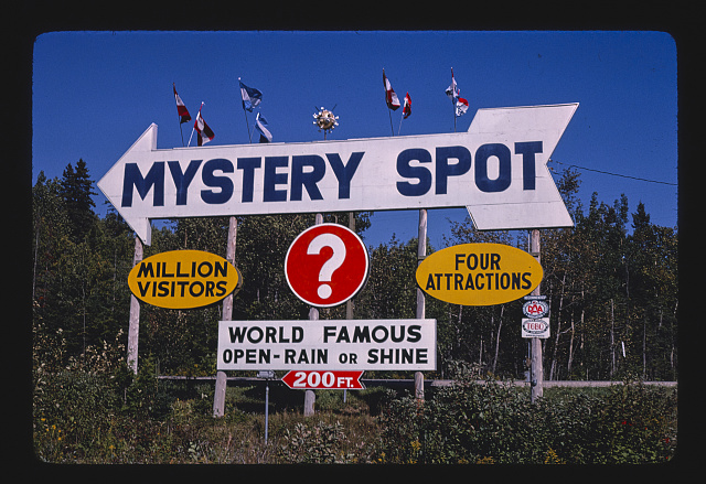 A classic place for American mysteries - the Mystery Spot