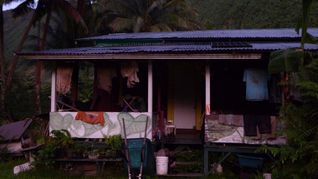 Waipi'o Valley home