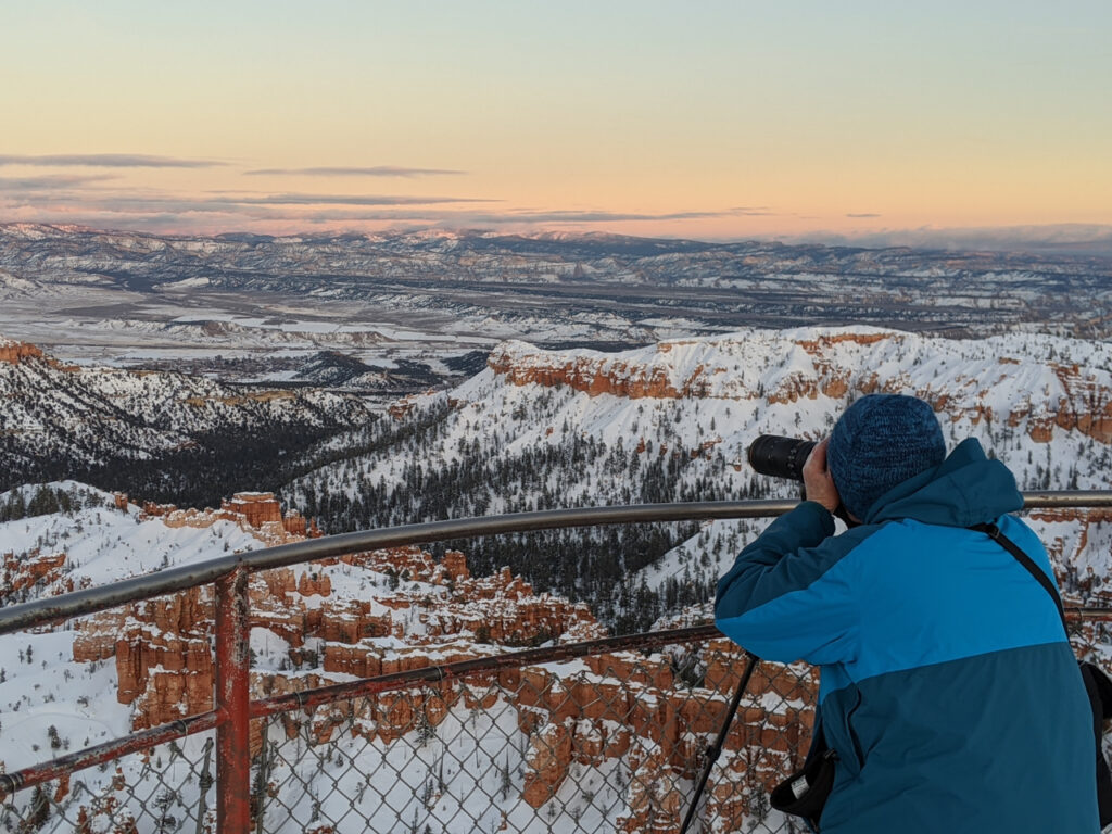 Photographing Bryce Canyon in Winter