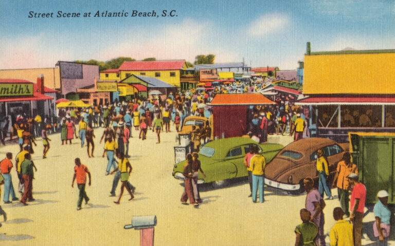 Historically Black beach, Atlantic Beach