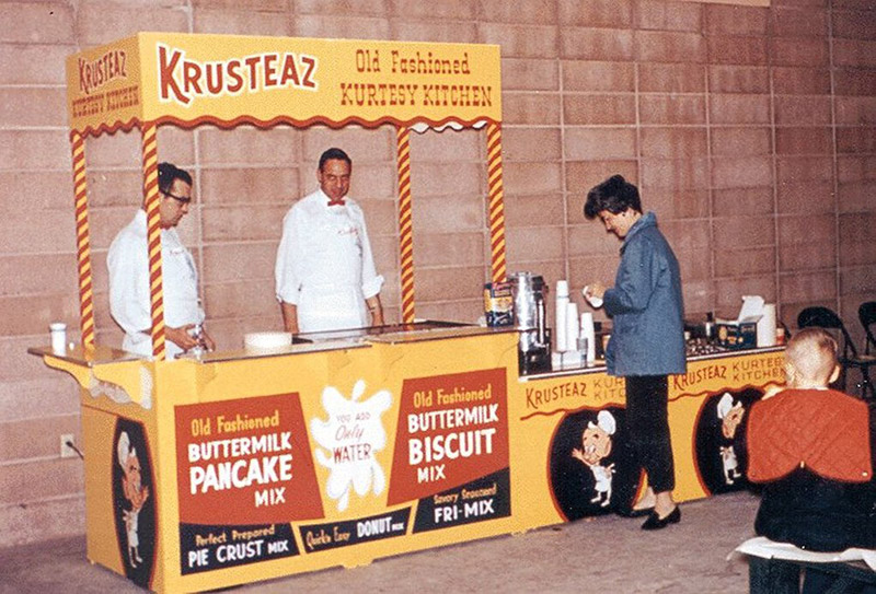 Krusteaz Kurtesy Kitchen stand
