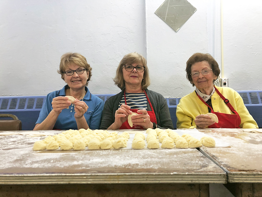 Volunteer pierogi makers keep the tradition alive in Pennsylvania churches