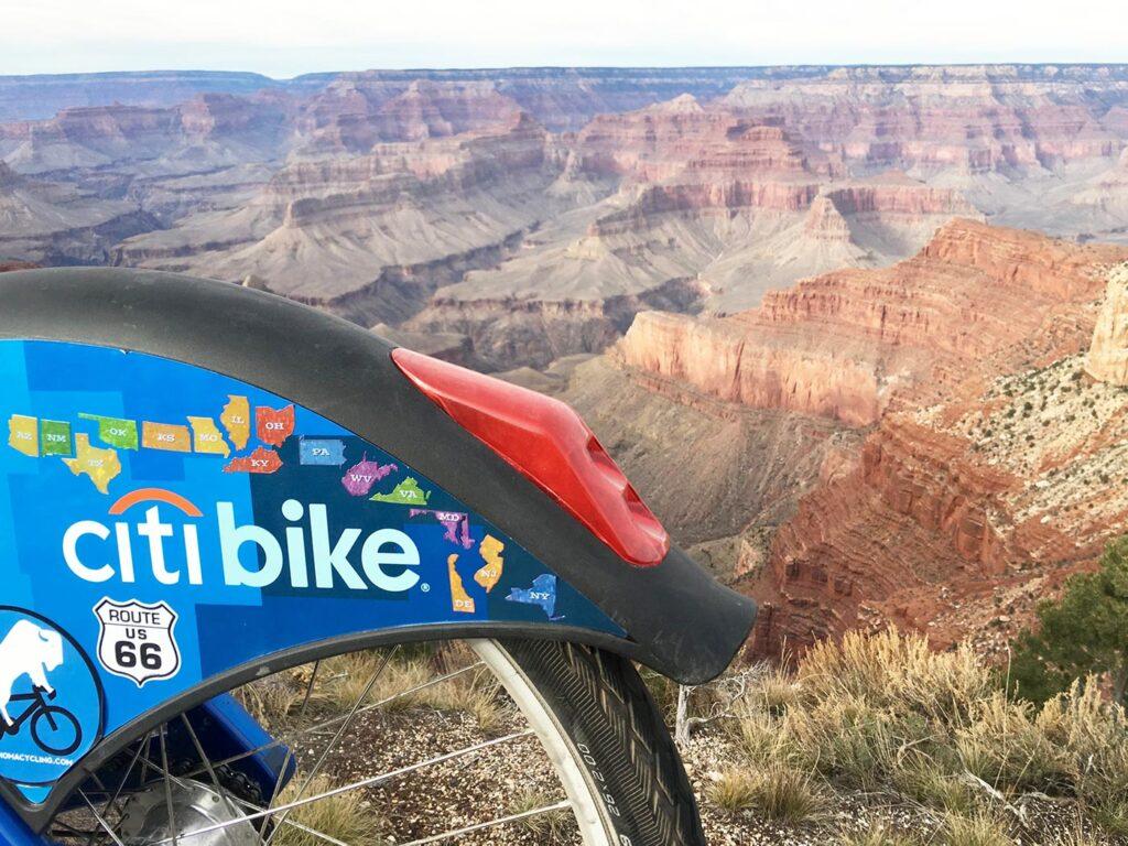 Citi Bike at the Grand Canyon