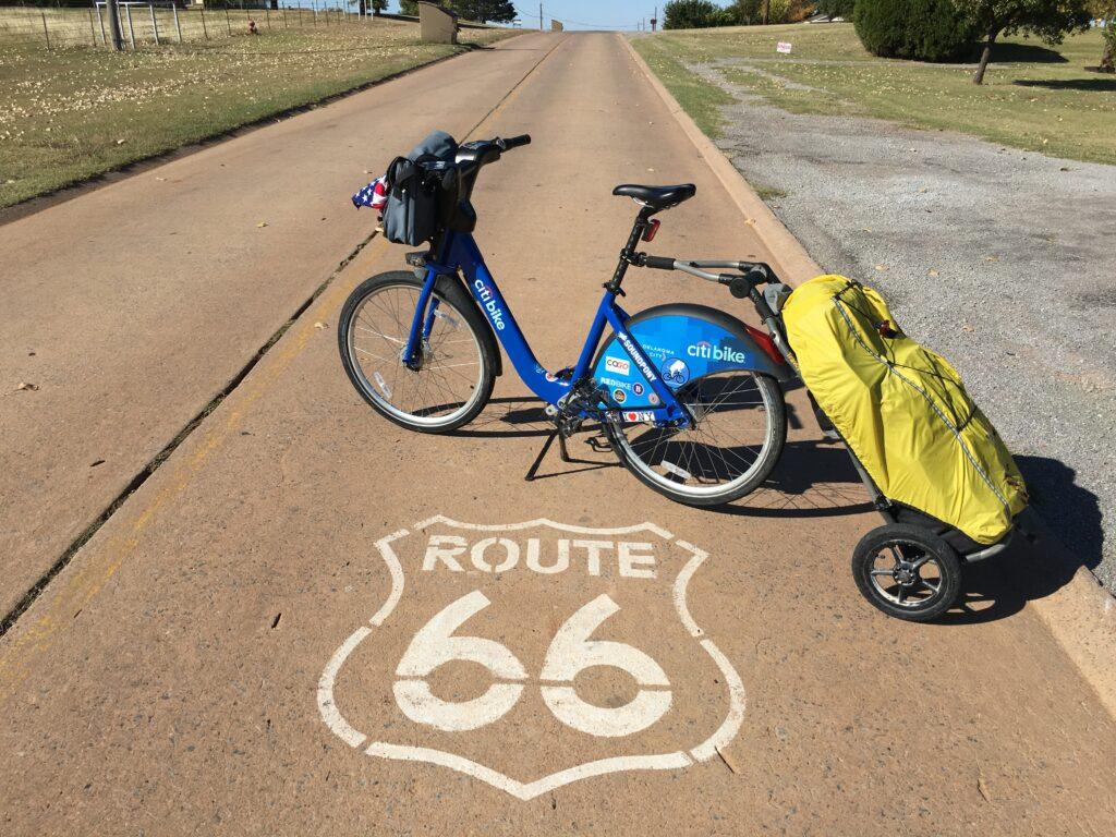 Citi Bike on Route 66